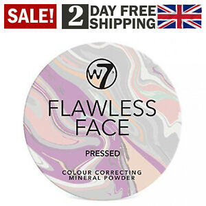 W7 Flawless Face Colour Correcting Mineral Powder Magic Minerals Foundation