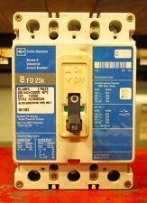 X Westinghouse Cutler Hammer 80 Amp Circuit Breaker 600 VAC FD3080 Blue Label