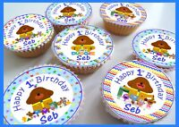 Hey Duggee Birthday/Thank you Edible Personalised Cupcake Toppers
