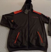 New York Islanders Full Zip Hoodie Jacket Youth Large Embroidered Gray NHL