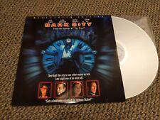 Dark City Laserdisc Sci-Fi Kiefer Sutherland Jennifer Connelly William Hurt