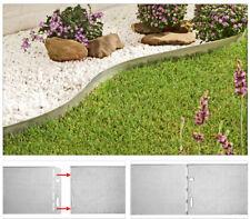 Rasenkante Metall 9,4M  Rasenkantenprofile Beeteinfassung Beetumrandung Mähkante
