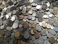 1000 coins Large mix old and new Lot of 1000 FOREIGN COINS 1000 world Coins.