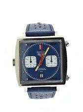 Heuer Vintage Monaco Steve McQueen Chronograph Stainless Steel Watch 1133B
