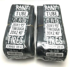 "2 x RANT 20"" BMX BIKE BICYCLE TUBES 20 x 1.95 2.0 2.1 2.25 2.3 2.35 2.4 NEW"