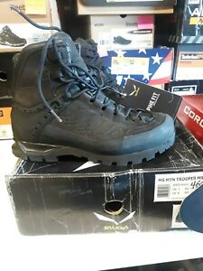 Men's Salewa MTN Trooper Mid Leather Boots 8 M FREE SHIPPING #460