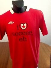 Canada Umbro Soccer Football Jersey adult SMALL funny EH !!!!!!