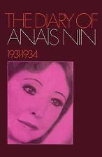 The Diary of Anaïs Nin 1931-1934 by Anaïs Nin (2011, Paperback)