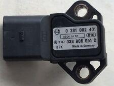 AUDI A3 GOLF MK5 2.0TDI PASSAT B6 TDI MAP SENSOR 038906051C 0281002401 2004 2007