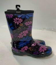Sloggers Size 8 Womens Flower Power Print Rain & Garden Boot Model 07801483