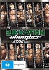 WWE - Elimination Chamber 2012 (DVD, 2012) New  Region 4