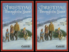 Reader's Digest Christmas Through The Years - New Sealed Audio Cassette 2-Tape