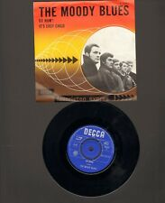 "MOODY BLUES 7"" SINGLE Go Now! FAVORIETEN EXPRES It's Easy Child 1965 MONO"