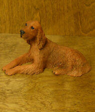 Castagna Dog Figurines #009 IRISH SETTER, NEW/Box From Retail Store,  3.75""