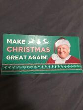 TRUMP MAKE CHRISTMAS GREAT AGAIN STICKER