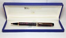 Waterman Le Man Mineral Red Ball Pen New in Box Product
