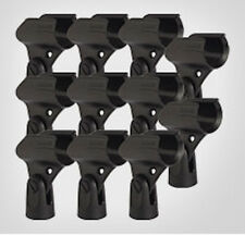 Shure A25D (Mic Clip) 10-Pack A25DM Shure Microphone Stand Adapter - Bulk Pack!