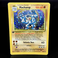 Machamp 1st Edition - Base Set Unlimited - WoTC Holo Rare Pokemon Card 1999