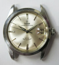 Vintage Rolex Tudor 1960s Prince-Oysterdate Automatic Mens Steel Watch Ref# 7966