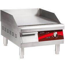 "Avantco EG16N 16"" Electric Countertop Restaurant Commercial Griddle 120v"