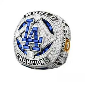 HOT 2020 Los Angeles Dodgers World Series Championship Ring Men's Jewelry Gifts