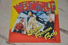 """Westworld - Sonic Boom Boy - 80er - 12"""" Maxi Vinyl Schallplatte LP"""