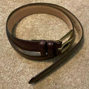 """Paul Smith Made in Spain Purple Belt 34"""" Waist"""