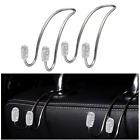 2PCS Car Hooks Bling Car Hangers Seat Headrest Car Accessories For Women