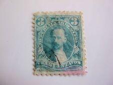 timbre ancien Argentine 1889 3 c