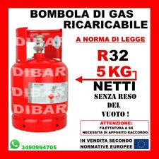 R32 5 KG BOMBOLA DI GAS REFRIGERANTE RICARICABILE NUOVI CONDIZIONATORI DAIKIN 2