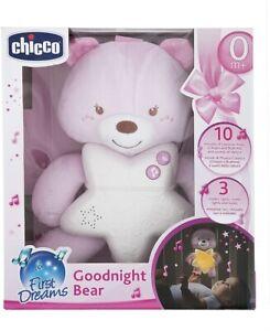 Chicco Gioco First Dreams Orsetto Peluche Colore Rosa
