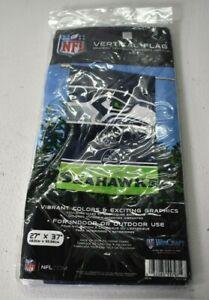 "NFL Seattle Seahawks WinCraft Vertical Flag 27"" x 37"" Banner Indoor Outdoor New"