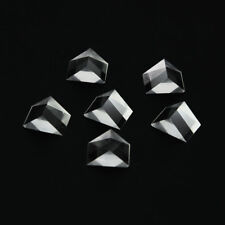 New listing 6Pcs 11.5X10.5X15mm Right angle triangular prism for Physics science Teaching