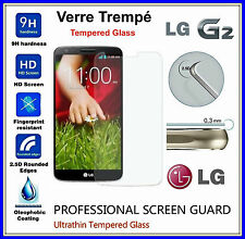 LG G2 Tempered Glass Vitre de protection d'écran en VERRE TREMPE