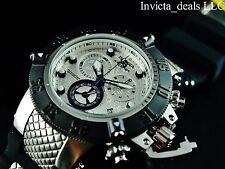 Invicta 50mm Subaqua Noma III Swiss Chronograph Silver Dial Stainless St Watch