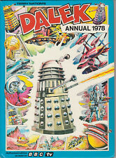 RARE: The Dalek Annual 1978. VGC! Unclipped price tag. Doctor Who. %2CharityDo!