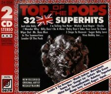 Top Of The Pops - 32 Super Hits (1988, Delta) Wanda Jackson, Glitter Band,... [2 cd]