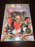Nintendo Konami Contra NES Complete CIB awesome Game Manual Foam Box
