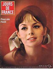 Couverture magazine,Coverage Jours de France 27/06/64 Pascale Petit