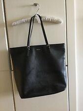 FURLA BAG bag LEATHER NAVY tote  blacks Woman