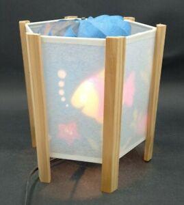 Aquarium Magic Spinning Lamp Night Light Fish 7.5 in tall