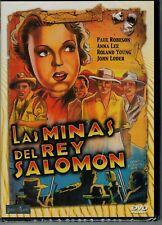 Las minas del rey Salomon (1937 King Solomon's Mines) (DVD Nuevo)