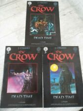 The Crow Dead Time #1 to #3 complete series (Kitchen Sink Comix 1996) Bundle