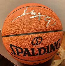 wholesale dealer 86858 e3ef6 Yi Jianlian Signed Official Spalding Game Basketball PSA DNA AC94396