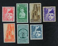 CKStamps: Italy Stamps Collection Scott#368/376 Mint H OG