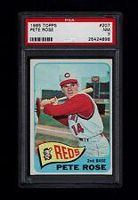1965 Topps #207 Pete Rose PSA 7 Reds