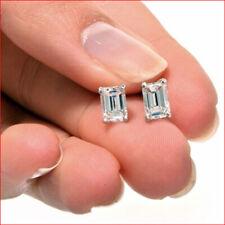 43bf1b62057e3 Emerald Fine Diamond Earrings 1.00 - 1.24 Total Carat Weight for ...