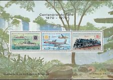 More details for angola : 1970 centenary of angolan stamps min sheet sg ms699 mnh
