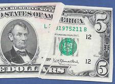 1977  $5   ERROR   ♚♚LARGE GUTTER FOLD♚♚   AU++