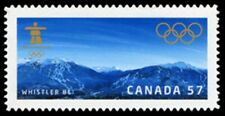 Canada  # 2367i   VANCOUVER WINTER OLYMPICS     New 2010  Die Cut Issue